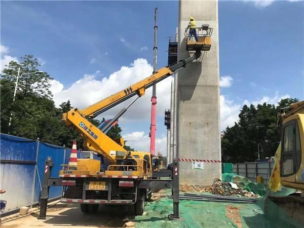 竹料桥梁检测车出租安全可靠广东顺捷