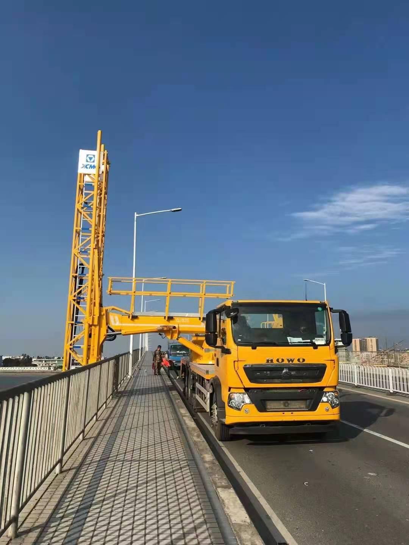 深圳桥梁检测车租赁多少钱一天