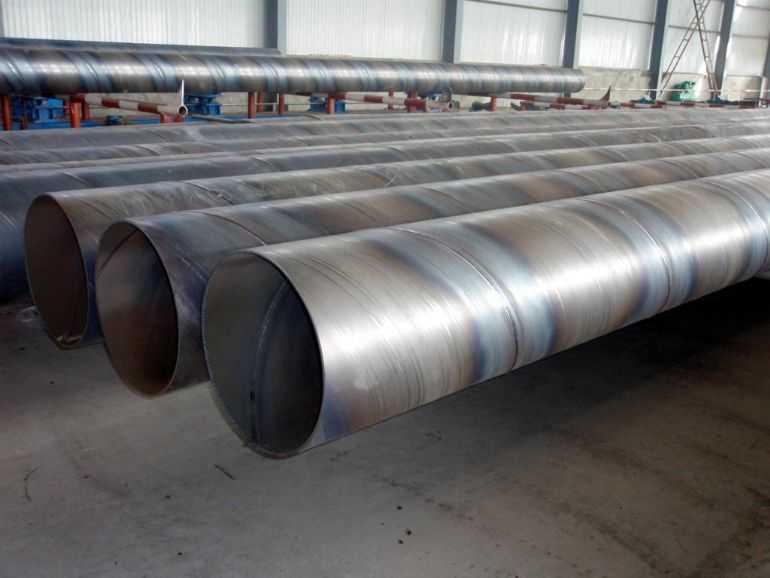 河南省商丘市各种规格型号螺旋焊接钢管制造厂家