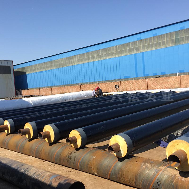 正阳钢套钢直埋复合保温管疏水节