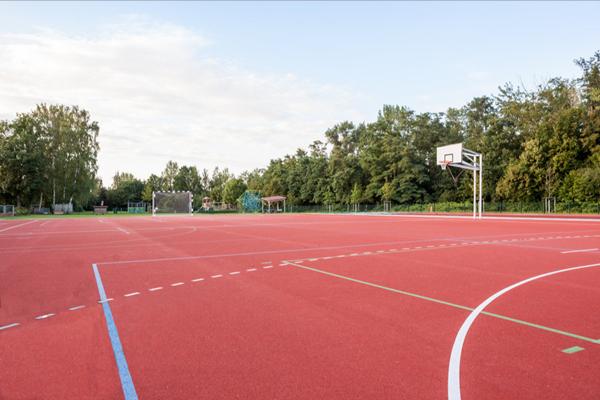 柳南区学校塑胶篮球场多少钱包工包料