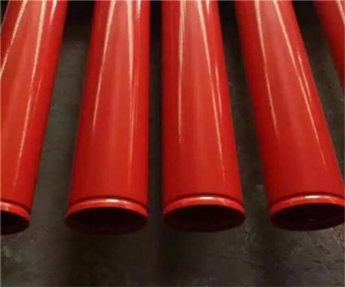大口径涂塑复合钢管气动输送管线正定