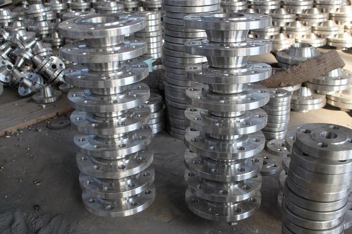荥阳碳钢带颈对焊法兰加工