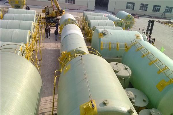 黄石大冶玻璃钢搅拌罐重量轻 耐老化欧意环保设备公司