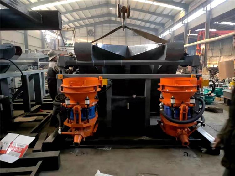 贵阳单料斗自动上料干喷浆机组吊装式干喷机组调价汇总