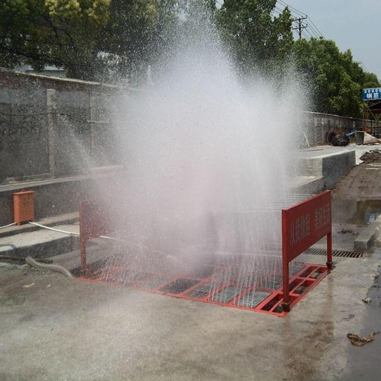 陕西省渭南市工地大门冲洗设备送货安装
