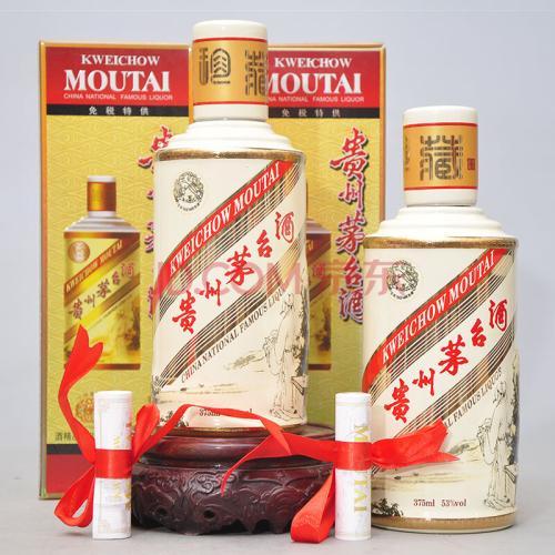 一瓶2005年回收中国名山茅台酒查看