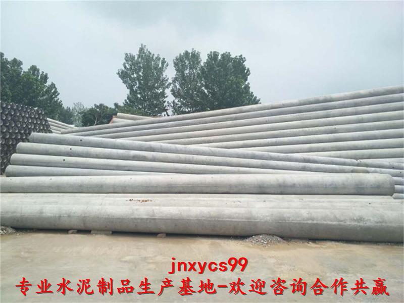 周口水泥篦子18米法兰杆电线杆厂家价格