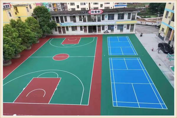 忻州保德幼儿园塑胶地坪施工_厂家提供