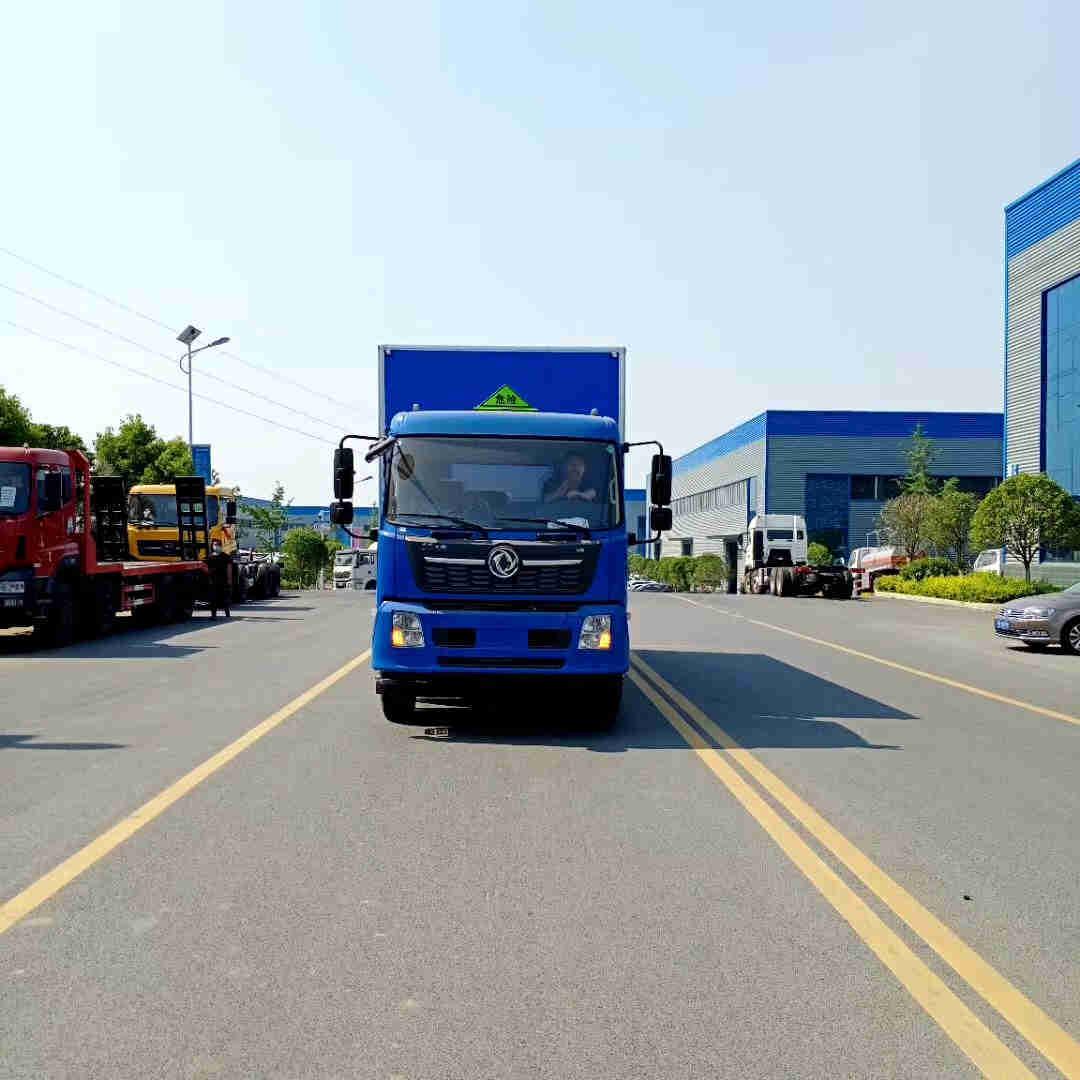 江铃3吨废弃机油危险品厢式运输车价格