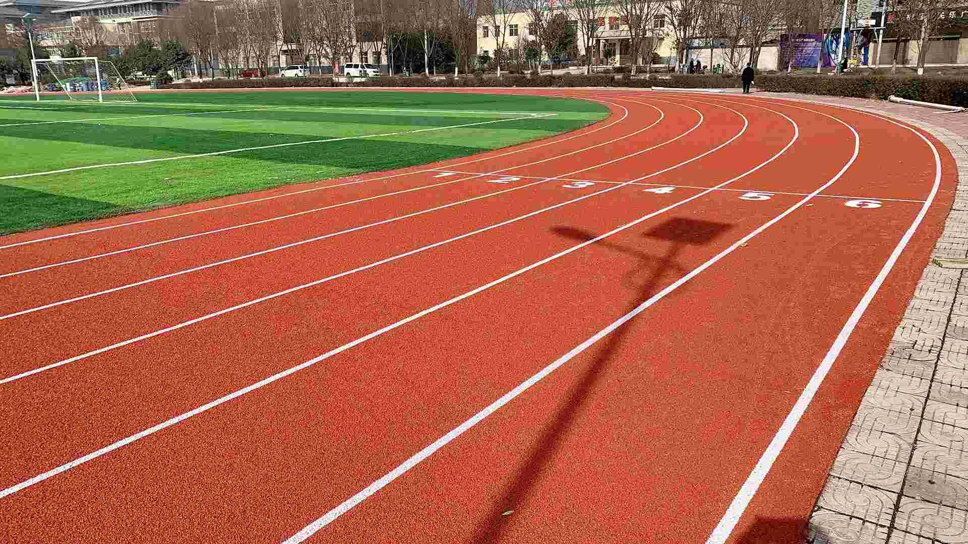 巴林左旗学校混合型塑胶跑道每方报价包工包料