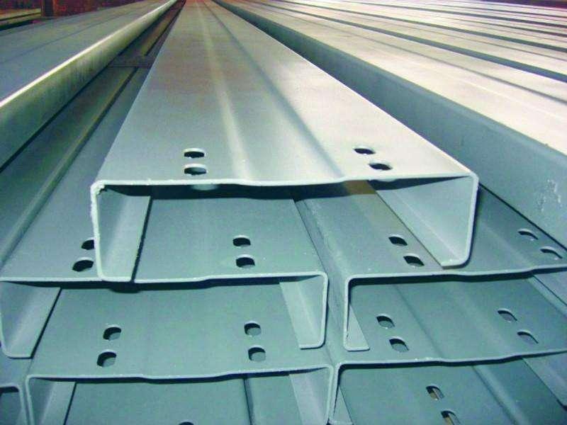 宁波市浸塑檩条C型钢批发厂家-焦作创优