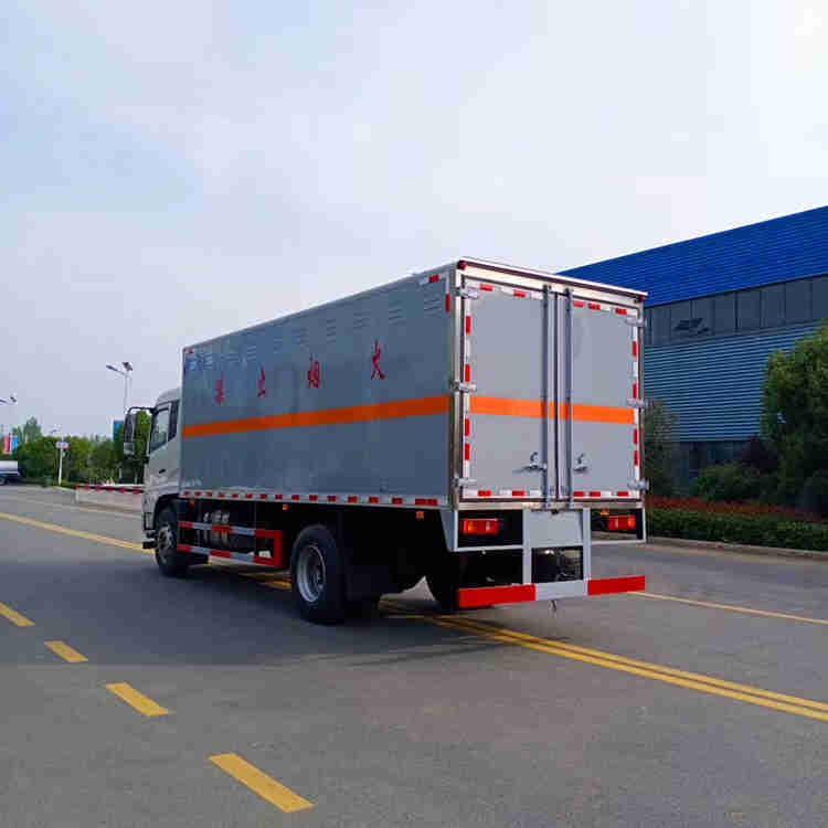 重汽3.3米杂项物品危险品厢式危货车价格