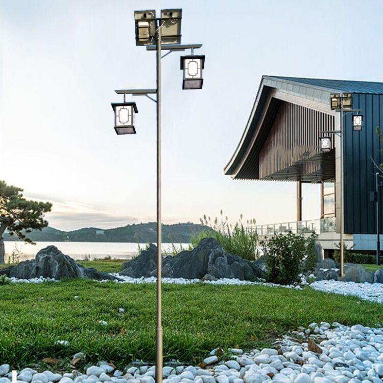 满城县6米农村太阳能路灯厂家样式全