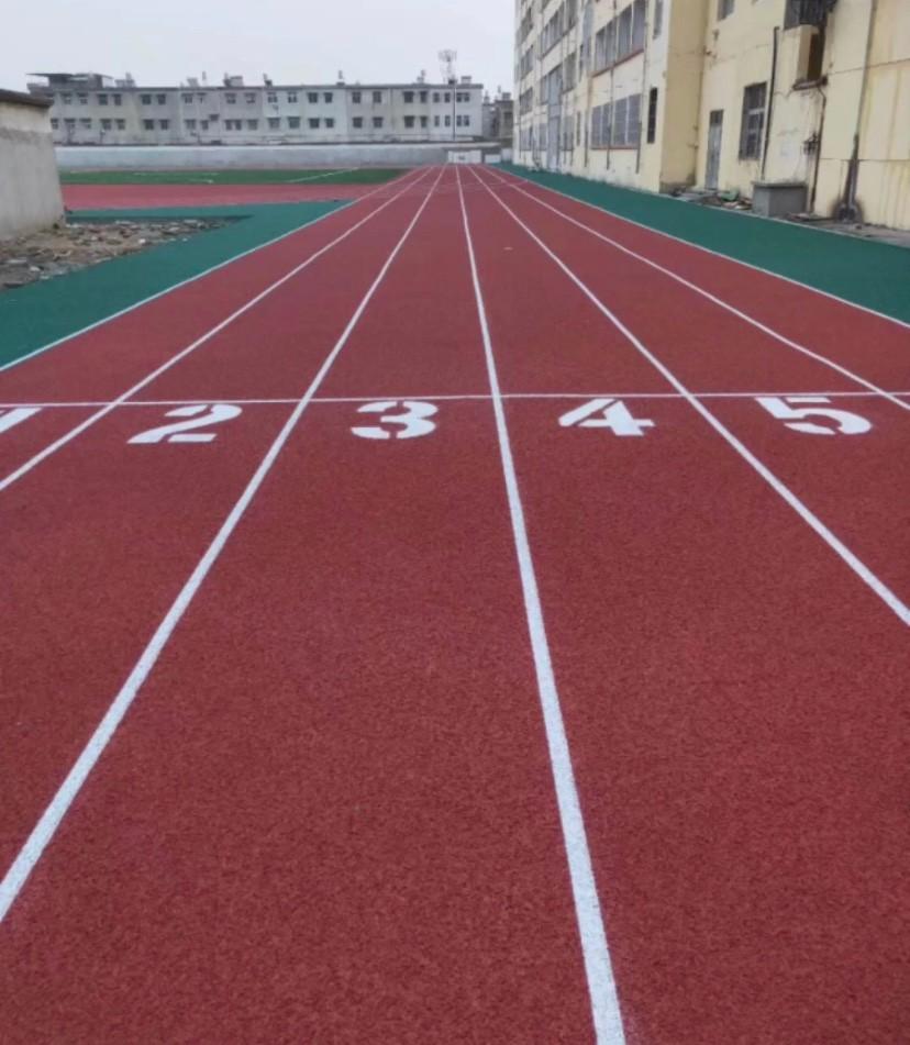 含山中学200米橡胶跑道每平方报价