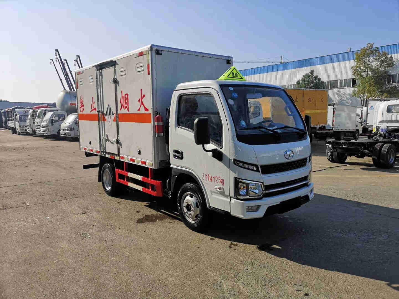 东风9米6国六液化气罐危险品厢式配送车价格
