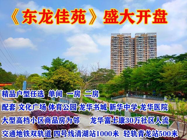 龙华村委房东龙佳苑【网站】龙华 东龙佳苑 龙华文化广场