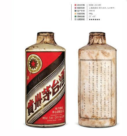 河北区61年茅台酒回收酱瓶的价格