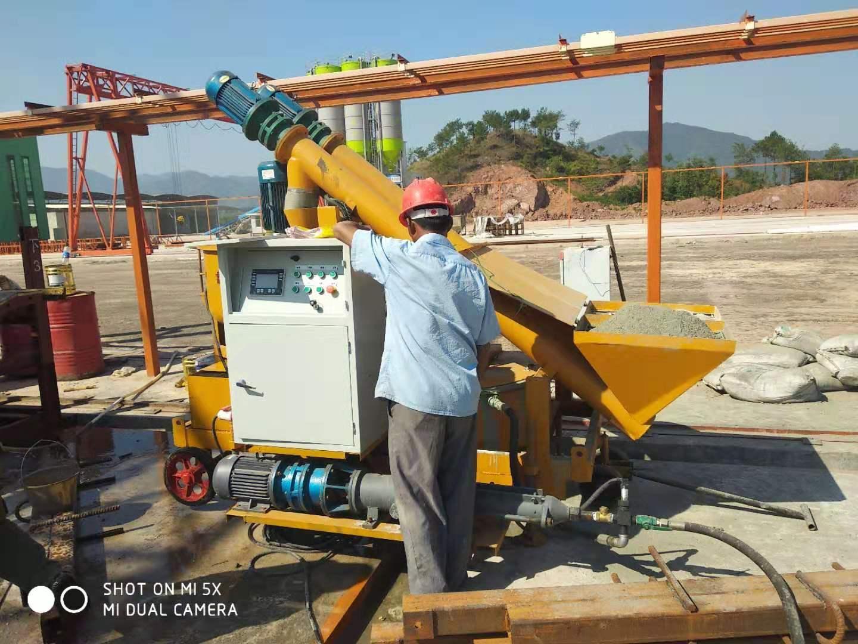 河池智能数控压浆机 螺杆式压浆机终身保修