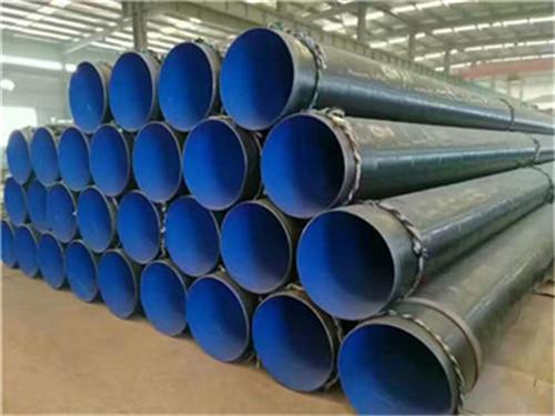 黑龙江省牡丹江市埋地三层聚乙烯防腐钢管全新价格