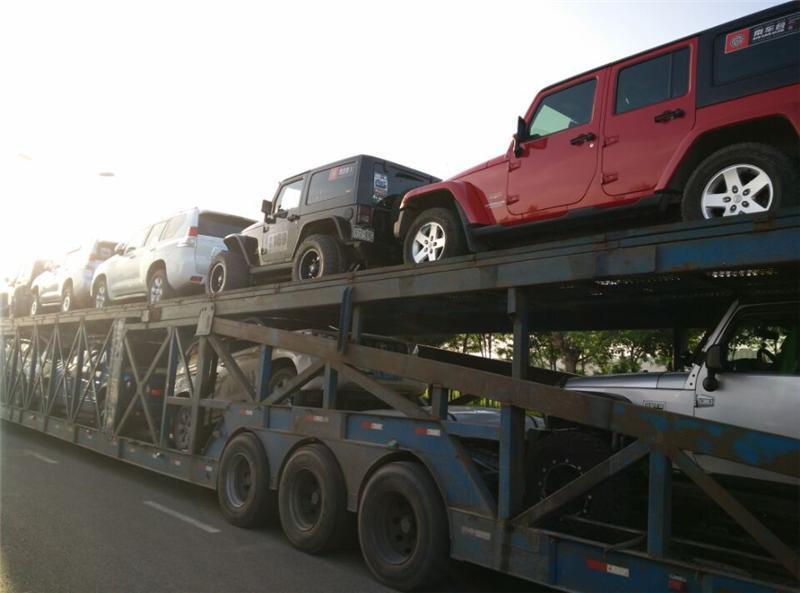 新疆商品车托运到贵州价格表