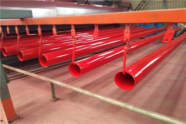 凉静宁大口径化工涂塑钢管价格