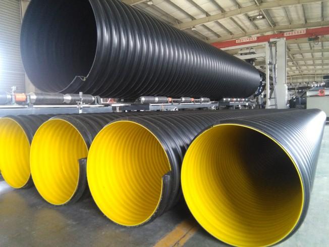 萍乡HDPE钢带增强螺旋波纹管的优势
