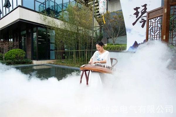 昆明步行街喷雾降温系统厂家