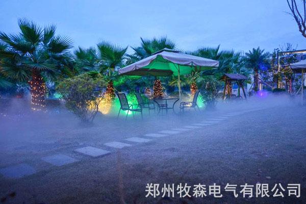 成都景观喷雾造景设备一套多少钱