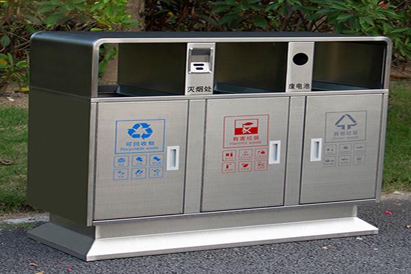 兰西全不锈钢垃圾桶价格推荐