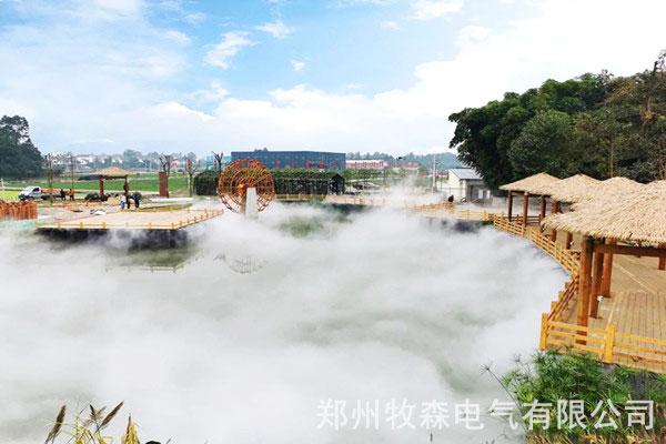 鞍山公园喷雾造景系统供应商