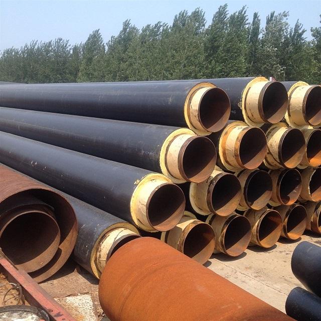 呼图壁直埋聚氨酯保温钢管专业施工