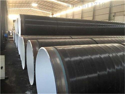 吉林省白山市缠绕式三层PE防腐钢管价格表