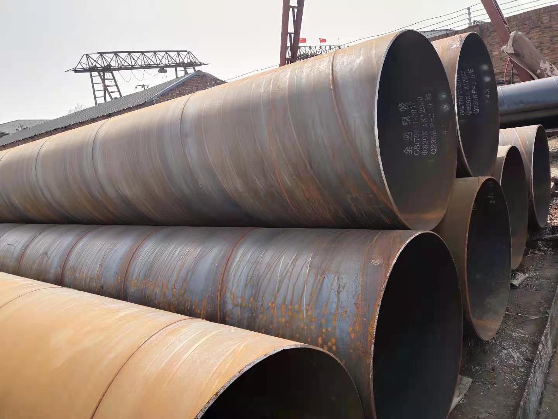 富阳疏浚螺旋钢管订购厂家
