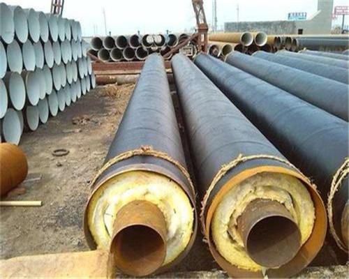 喀什巴楚76*3聚氨酯无缝保温钢管每支多少米