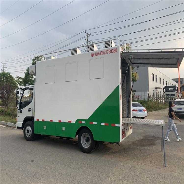 高原炊事车 后勤保障供餐车 特种检测厢式车多功能应急净水车
