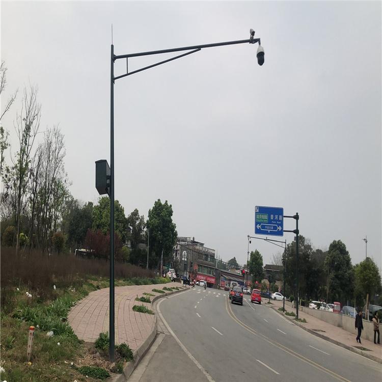内江市东兴区尾气监测立杆 室外杆件指导专家