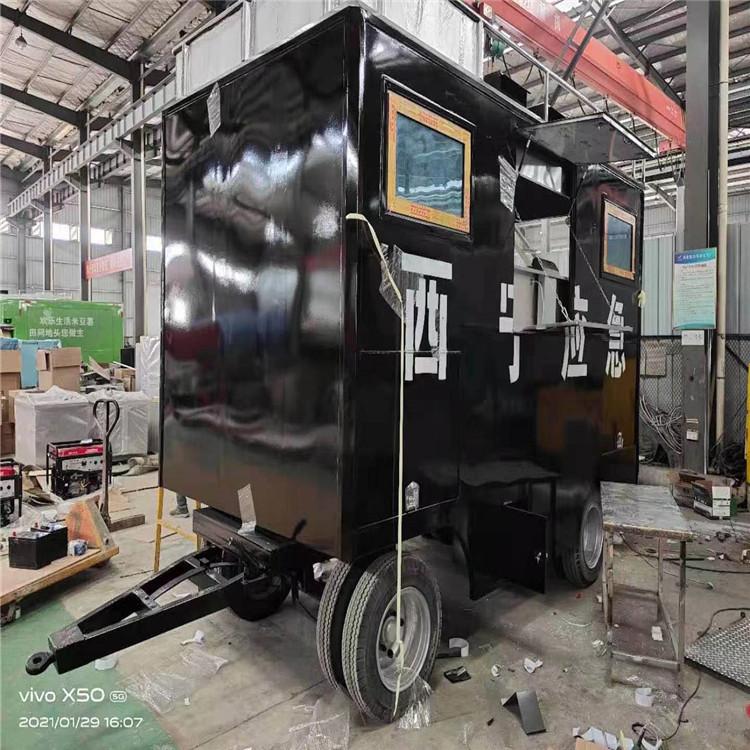 商务高端野外做饭流动厨房餐车水质应急快速检测车