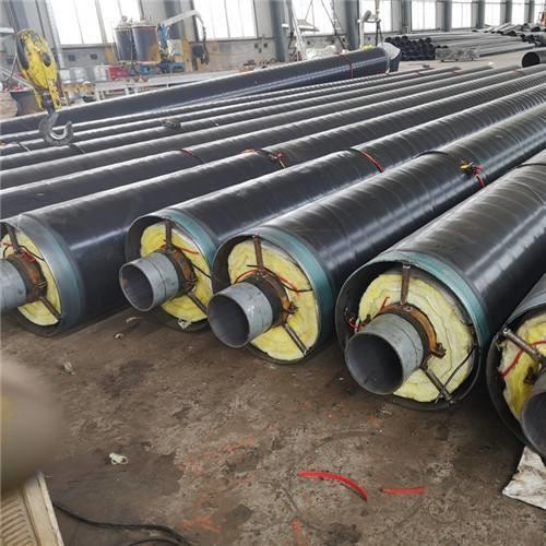 蒸汽管道保温钢套钢实体厂家可来厂考察长阳土家族自治县
