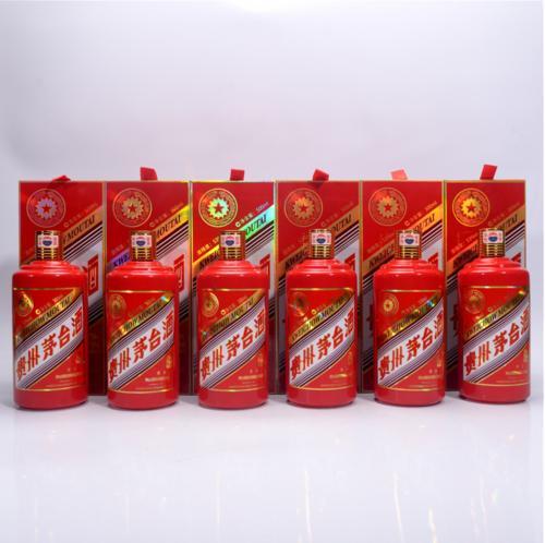 (回收5L茅台酒瓶)回收茅台5L瓶子价格表