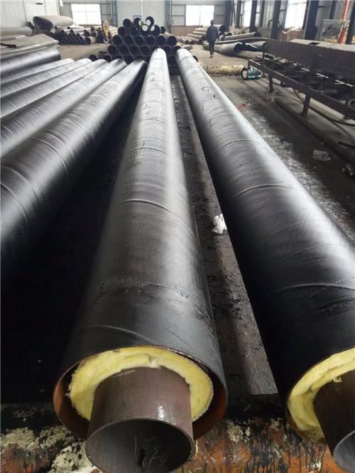 惠州市钢套钢蒸汽直埋保温钢管价格按图纸定制-全国送货