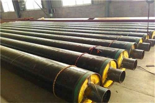常州预制钢套钢蒸汽保温钢管钢套钢保温管道瑞盛保温口碑好