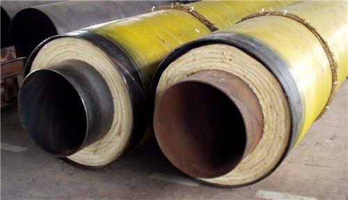 类乌齐直埋式钢套钢蒸汽保温管钢套钢行家沧州瑞盛管道