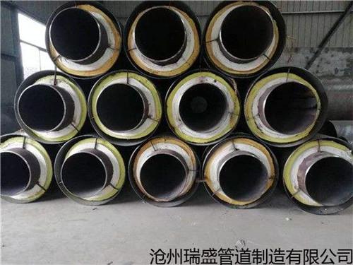钢套钢直埋蒸汽管工业蒸汽用管网大新县