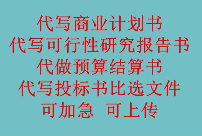 宁波写可行性报告可研报告商业计划书灯光和音响标组图