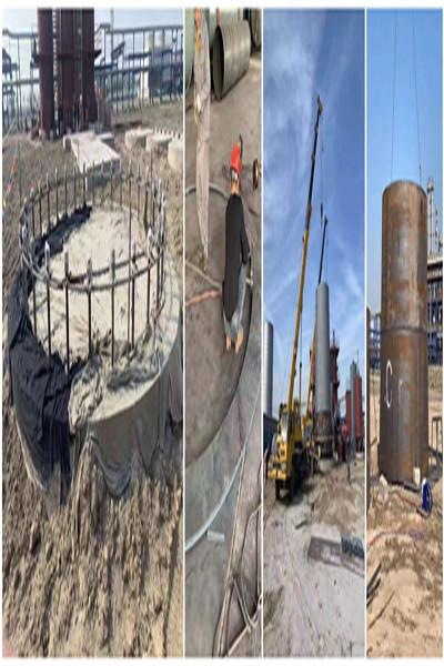 绥化市红砖烟囱爬梯安装公司全国低价