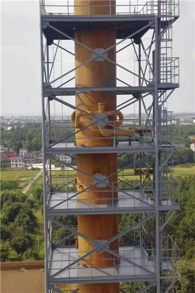楚雄州异型碳钢烟囱制作公司@食品厂