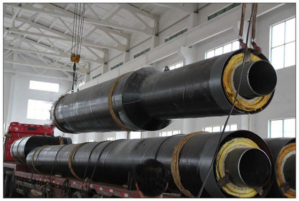 钢套钢预制复合保温钢管厂家发货阜新