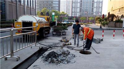上海淤泥池清底管道疏通施工队伍了解