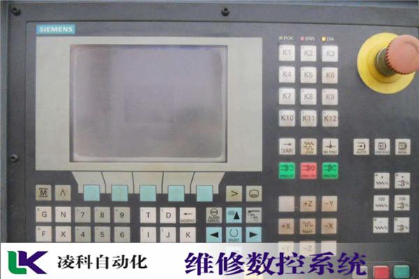 NUM控制系统屏幕画面抖动维修凌科二十年